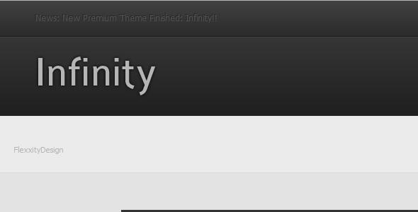 infinity smf themes